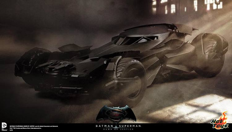 BATMAN V SUPERMAN - Hot Toys 1/6th Scale Batmobile