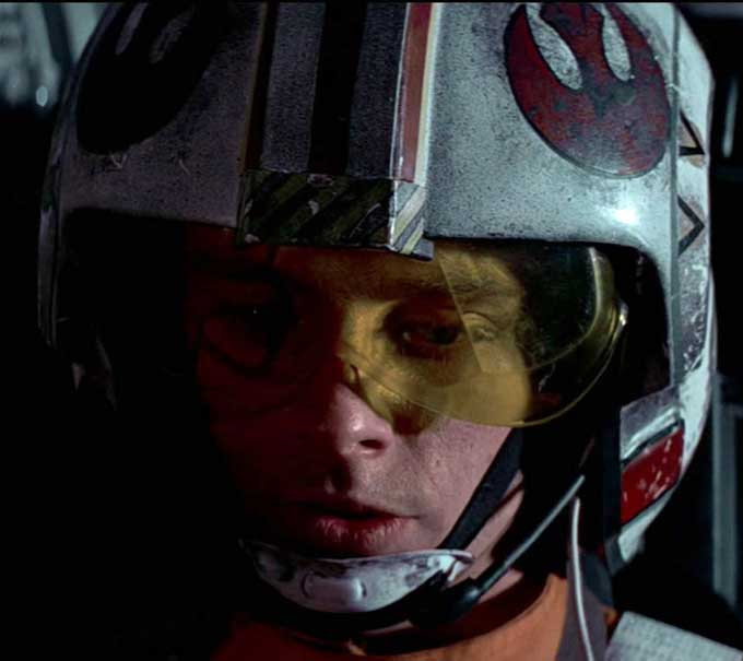 DIY STAR WARS X-Wing Helmet