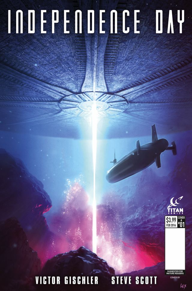 Tie-In Comic Covers Released For Independence Day