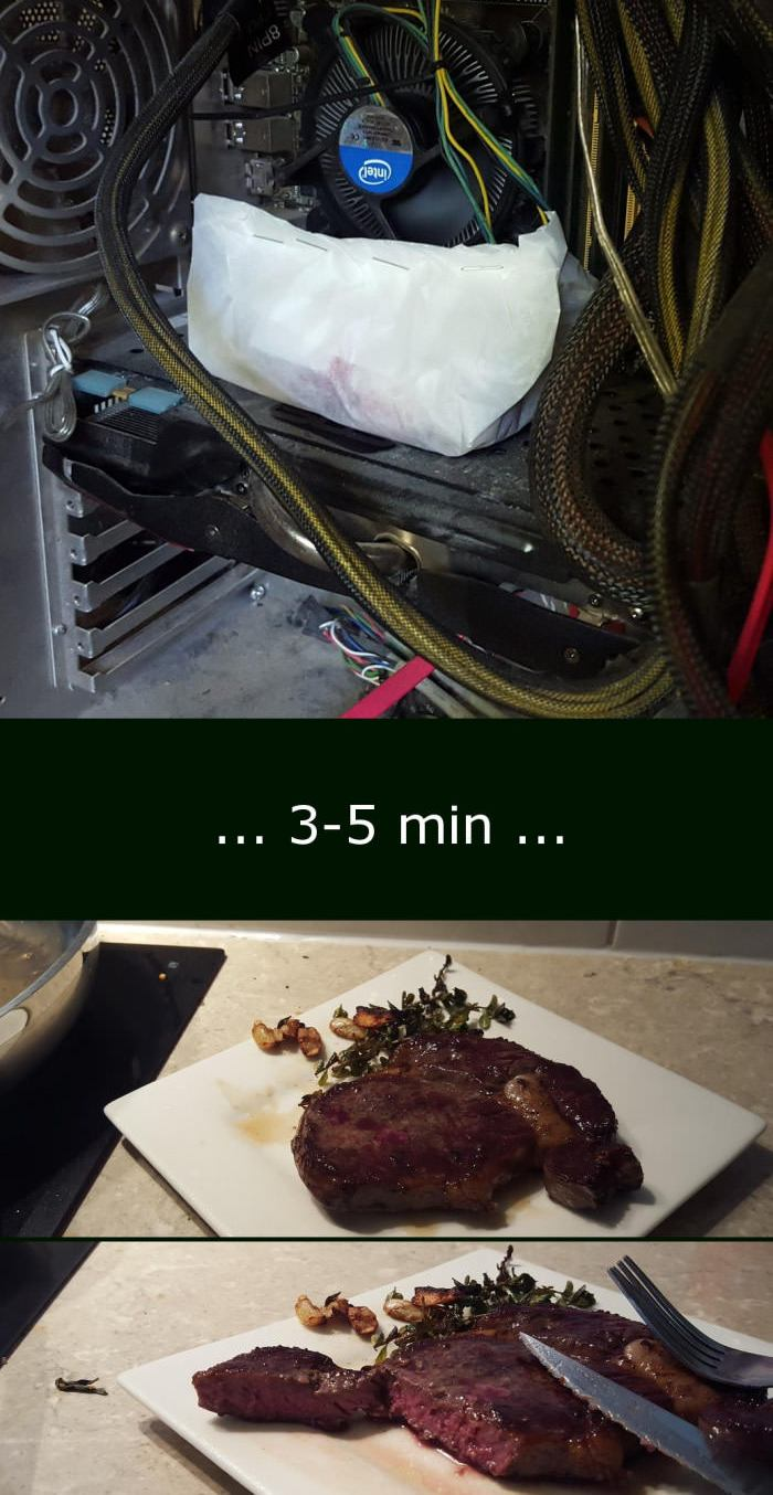 Cook Your Steak on GTX 780
