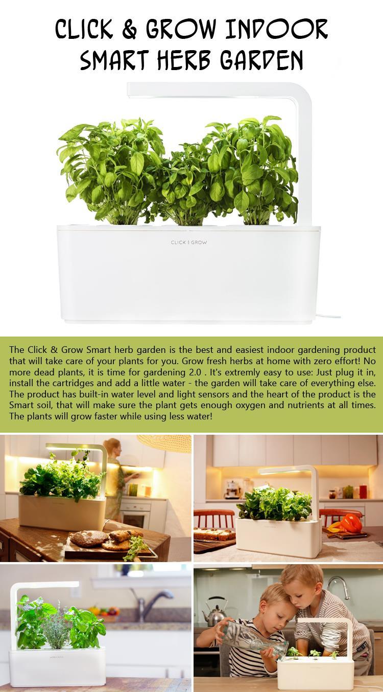 Click-and-Grow-Indoor-Smart-Herb-Garden