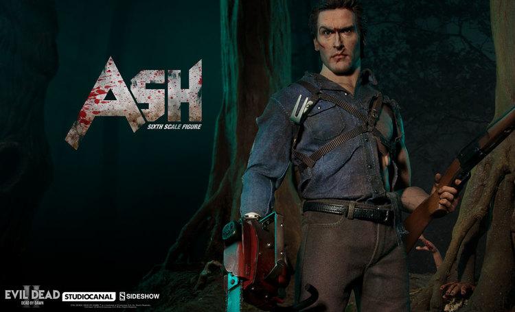 EVIL DEAD II Ash Collecibale Action Figure