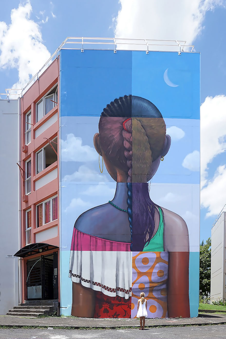 French Street Artist Transforms Buildings Around The World Into Works Of Art