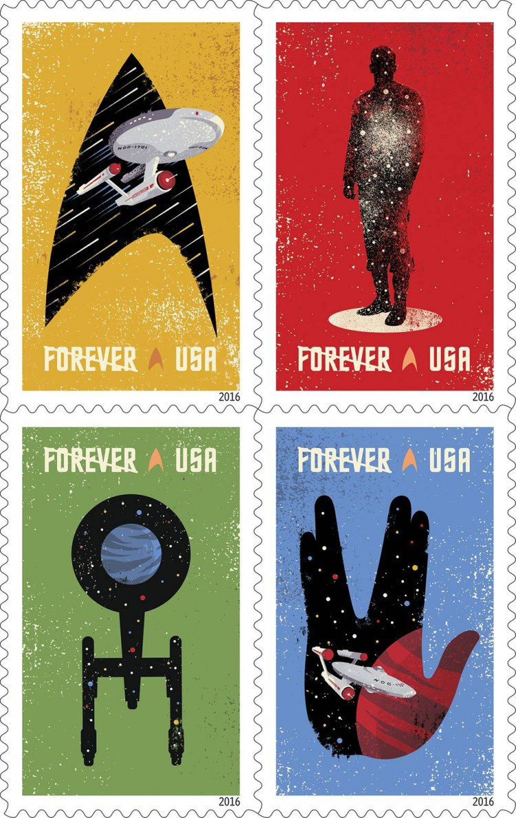 Star wars Official United States Postage Stamps