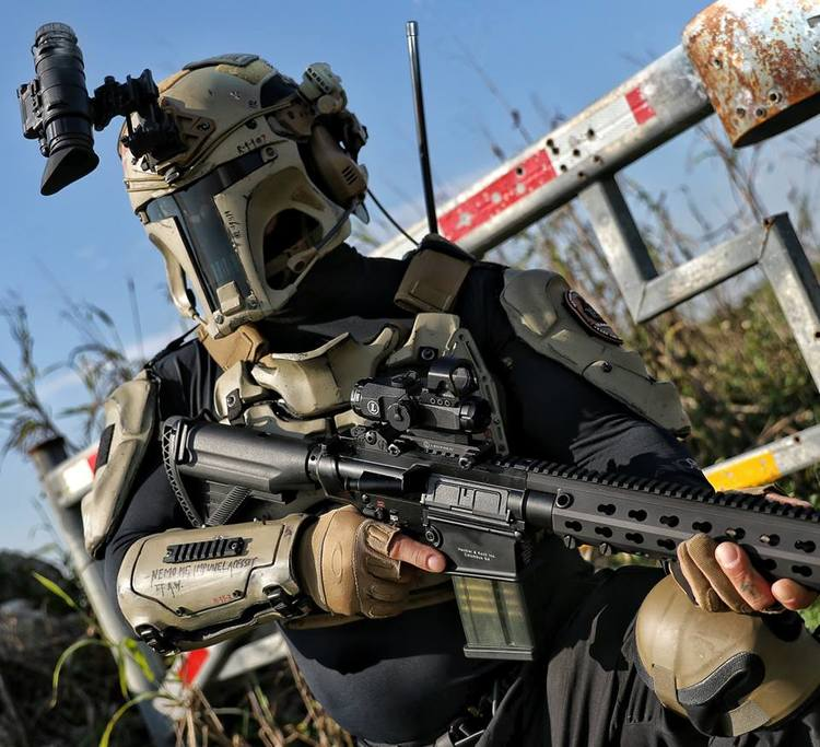 Futuristic Military Tactical Armor Inspired By Boba Fett Fizx
