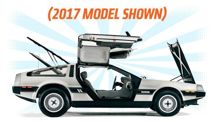 The DeLorean 2017