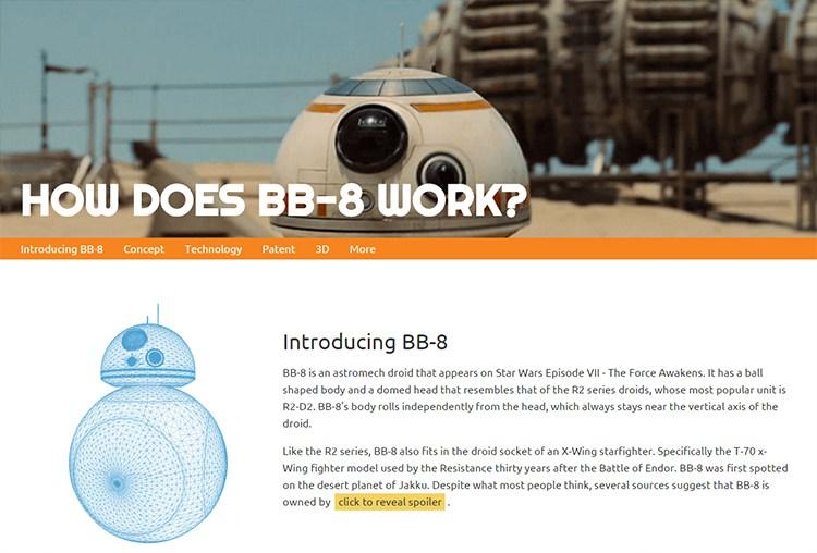 BB-8 Astromech Droid