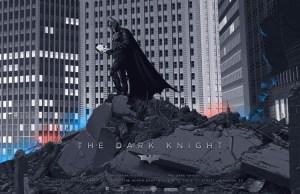Mondo Posters Of THE DARK KNIGHT
