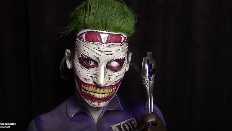 52 Joker Makeup Cosplay
