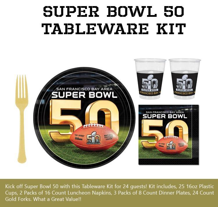 Super-Bowl-50-Tableware-Kit
