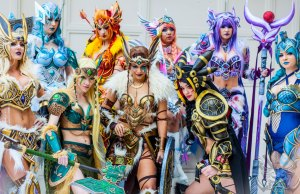 Pokémon Eeveelution Warrior Women Cosplay
