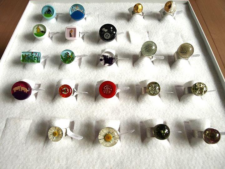 Stunning Translucent Rings