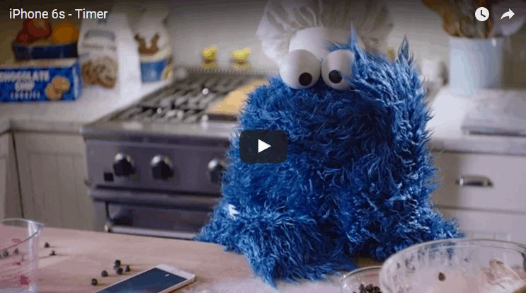 2016-03-18 08_21_08-Siri Helps Cookie Monster Bake Cookies in a New iPhone 6s Commercial