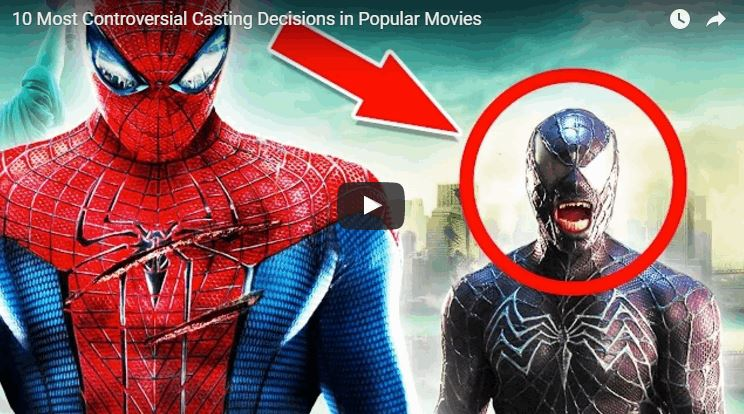 10 Most Controversial Casting in Big Movies