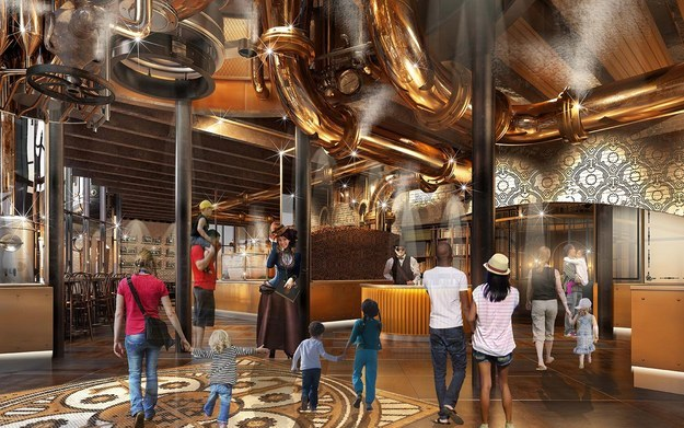 Universal Studios Is Bringing Willy Wonka's Chocolate Factory Come To Life