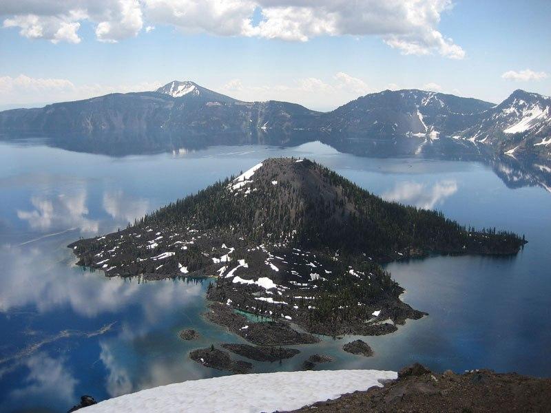 Wizard Island,Oregon