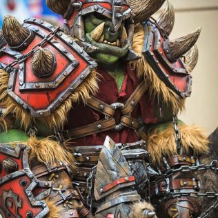 WORLD OF WARCRAFT Orc Cosplay