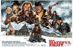 THE HATEFUL EIGHT Mondo Poster