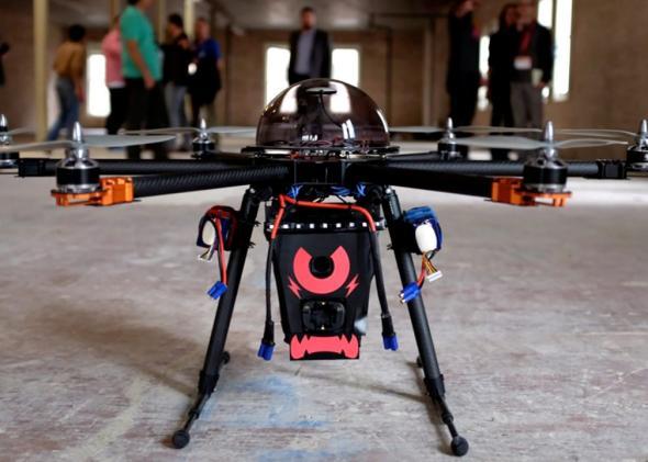 Taser Drone