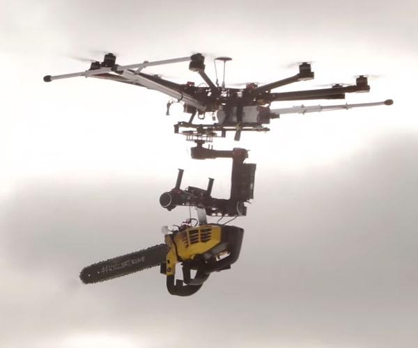 Chainsaw Drone