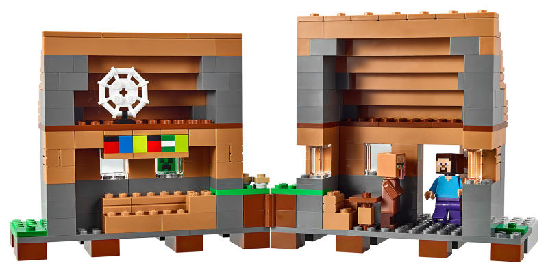 The Village Is The Biggest Official LEGO Minecraft Set