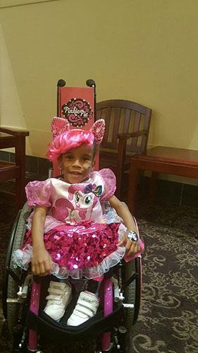 Wheelchair Cosplay for Kids