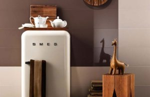 50s Style Refrigerator