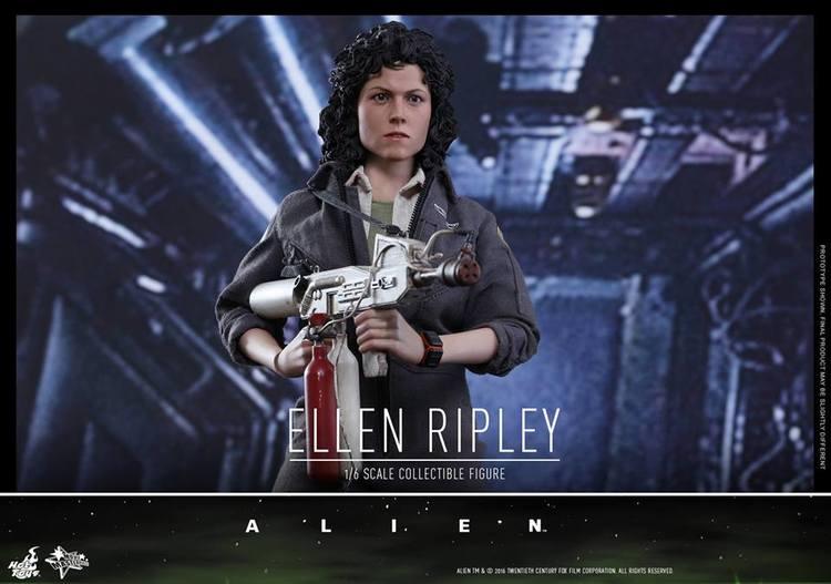 ALIEN Ellen Ripley Action Figure By Hot Toys (1)