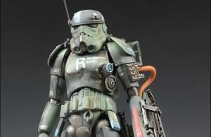 Maschinen Krieger-Themed Stormtrooper Warrior