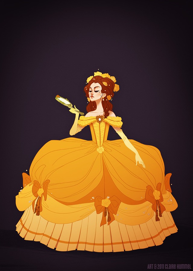 Disney Princesses In More Historically Accurate Clothing