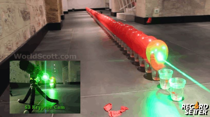 Pop 100 Balloons With a Laser