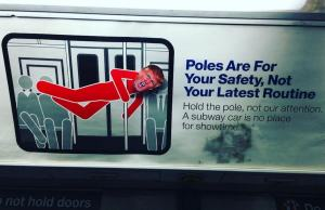 Donald Trump's Face On NYC Subway Posters