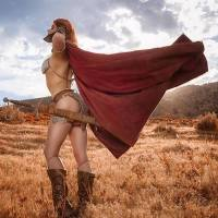 Sizzling RED SONJA Cosplay