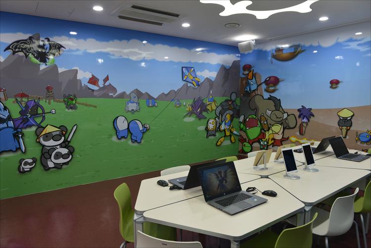 Blizzard Renovate A Play Room In Korean Children's Hospital