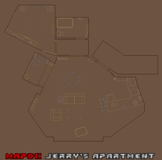 Jerry Seinfeld's Apartment