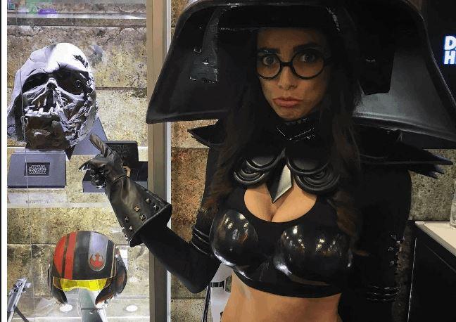 Genderbent SPACEBALLS Dark Helmet Cosplay