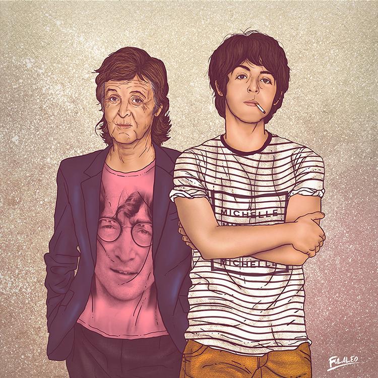 Illustrations of Celebrities