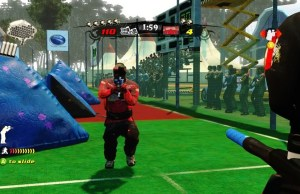 Videogames and Paintball