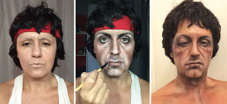 Female Makeup Artist Can Transform Herself into Anyone