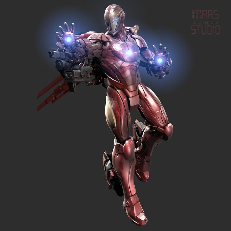Iron Man Armor Design (2)