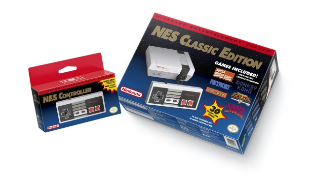 Nintendo Mini-NES Console