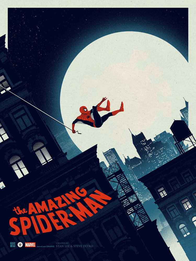 Spider-Man fan art poster (2)