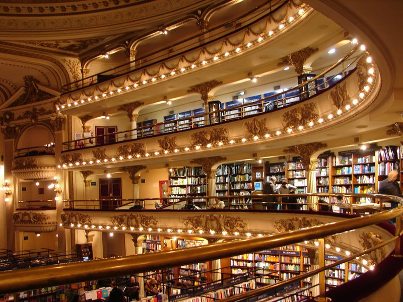 Theatre Turned Into a Bookstore in Buenos Aires (4)