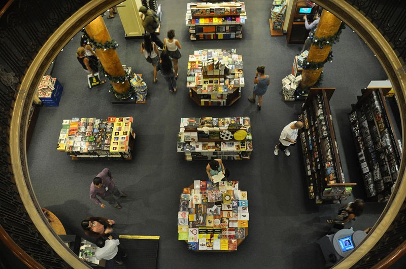 Theatre Turned Into a Bookstore in Buenos Aires (5)
