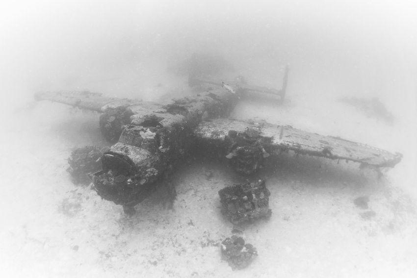 Underwater Graveyard of WWII Planes  (11)