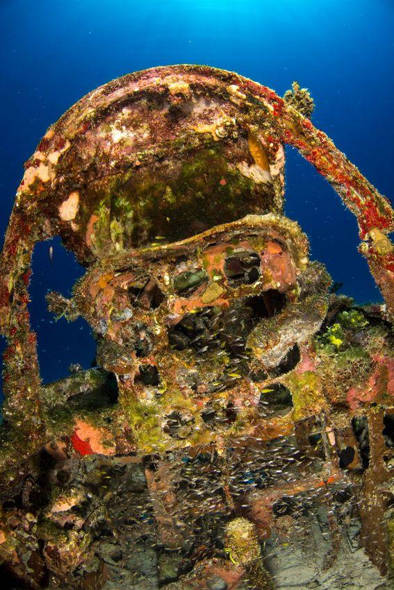 Underwater Graveyard of WWII Planes  (6)