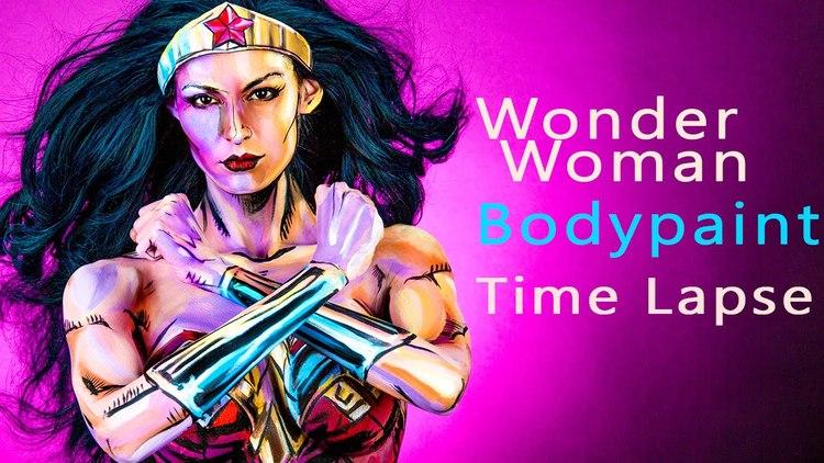 Make Up Artist Transformed Herself Into Wonder Woman