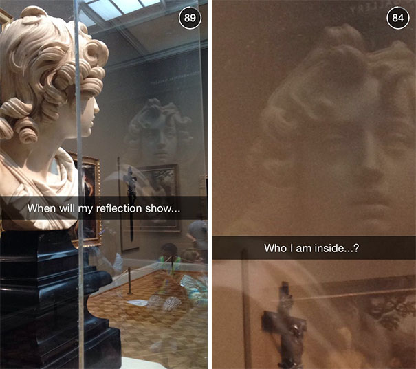 Museum Snapchats