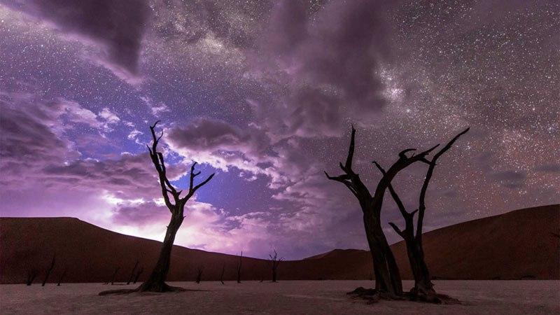 Timelapse of the Night Sky