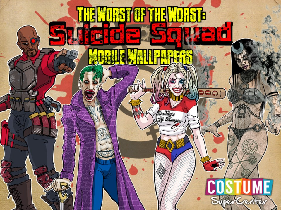 Suicide Squad Mobile Wallpapers